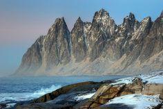 Winter Paradise in Senja Island, Norway