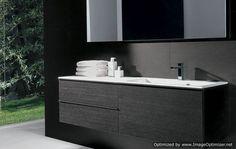 modern-bathroom-design-ideas(18) Modern Bathroom Design, Vanity, Design Ideas, Black And White, Decoration, Interior, House, Home Decor, Dressing Tables