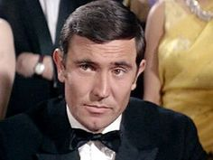 James Bond (George Lazenby), worst bond Ever!!!  No one even remembers this guy as bond. Grrrrrrr
