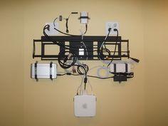 Wall mounted mac mini