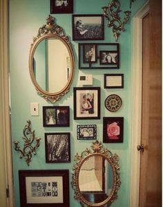 Az örök klasszikus, de valljuk be roppant mutatós megoldás. Fotó: pinterest.com