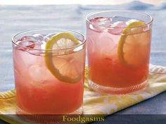 Blueberry lemonade cooler