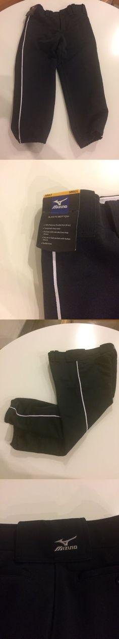 Baseball Pants 181337: Mizuno Adult Baseball Pants Size Small (Black White Piping) -> BUY IT NOW ONLY: $30 on eBay!