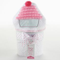 Baby Cakes Bathtime Hooded Spa Towel