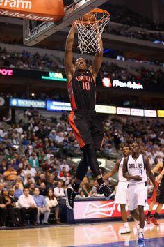 "3ce9b1d6cf9e DeMar DeRozan dunking in the Air Jordan 9 ""Johnny Kilroy"""