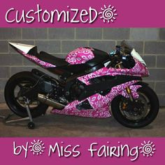 Miss Fairing Customized ABS Motorcycle Injection Fairing Bodywork for Honda Kawasaki Suzuki Yamaha Women~