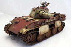 Bare bones Koeniggs Tiger or Tiger II scale model