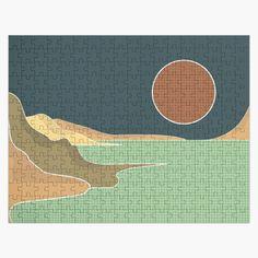 #mountainridge #sand #earth #grass #naturelover #geometricpattern #blue #shadesofbrown #wavy #aesthetic #minimalist #visco #tiktok #pinterest #beach #wilderness #lesspeoplemorenature #calm #boho #retro #moon #nightandday Day For Night, Vignettes, Wilderness, Jigsaw Puzzles, Grass, Minimalist, Calm, Moon, Earth
