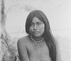 Candelaria (the daughter of Juana Maria) - Seri - 1894
