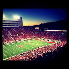 University of Utah. GO UTES!!! <3
