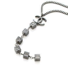 LOVE Chanel Drop Pendant Necklace