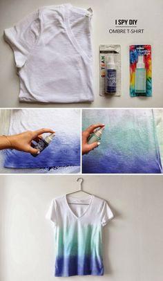 DIY Ombre T-Shirt                                                       …
