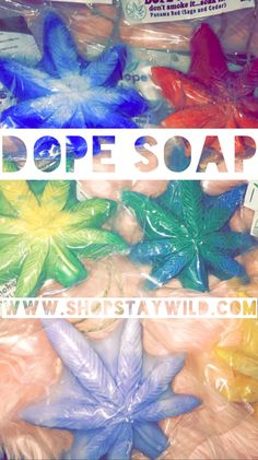 Dope on a rope  this hemp infused soap smells amazing and leaves skin soft and silky. Available at ShopStayWild.com #cannabis #cbd oil #hemp oil #marijuana #kush #weed