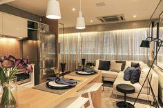 Manhattan Square - Casa Aberta - apartamento studio, sala e cozinha integrada