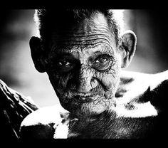 La Chureca, Nicaragua Old man, born 1905, in Managua´s city dump inLa Chureca. by Gunnar Salvarsson