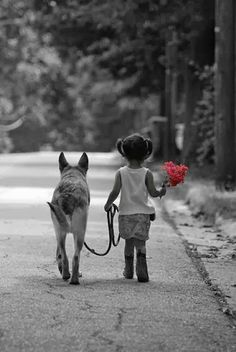 Walking with a forever friend. ❤