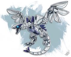 Because Lugia, leader of the Legendary Birds, who can tear cliffs down with one wave of its wings, apparently isn't terrifying enough by itself. So now here it is in the form of a flying death robot.