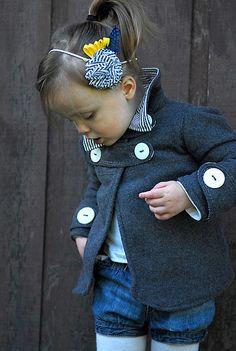 Nice coat tutorial...too cute!