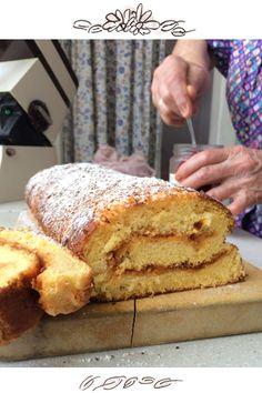 Grandma's secret recipe for really fluffy biscuit roulade – Backideen Granny's Recipe, Secret Recipe, Secret Secret, Fluffy Biscuits, Cake Recipes, Dessert Recipes, Diet Recipes, Snacks Sains, Salty Cake