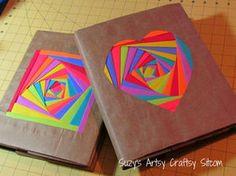 【無料】素材いろいろブックカバーの作り方【型紙】 - NAVER まとめ>余った折り紙と紙袋でできます