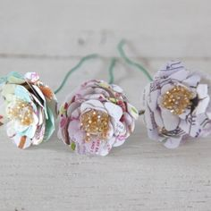 DIY Perfect Paper Flowers Using Soap Wrappersfinished flowers