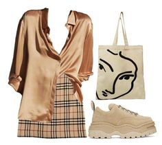 """""""320"""" by lasushi ❤ liked on Polyvore featuring Burberry and Eytys"""