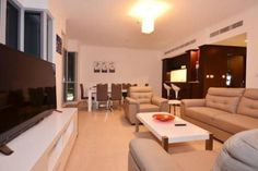 Check out this awesome listing on Airbnb: Attractive 2BR Apt.-Burj Residence - Apartments for Rent