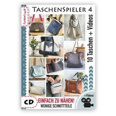 Kostenloses Schnittmuster: ReLeda Täschlein mit Flechtverschluss nähen | Snaply-Magazin Felt Clutch, Shoe Rack, Pocket, Tips, Hoody, Magazine, Dog, Infant Crafts, Bags Sewing