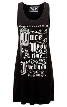 cool Killstar Gothic Story Time Vest Dress by http://www.polyvorebydana.us/gothic-fashion/killstar-gothic-story-time-vest-dress/