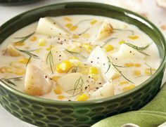 """Creamy """"Cheater"""" Chowder - Flavour Curator - http://flavourcurator.ca/recipes/main-courses/creamy-cheater-chowder/"""