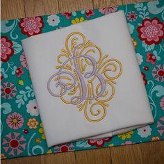 Adorn Ornamental Monogram Designs by JuJu