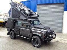 Alu cab Icarus project. Land rover defender 110. South Africa