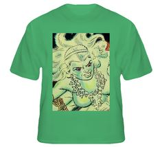 Ghost Comics Goddess Close Up Goddess T Shirt
