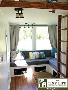 Tiny House seating area