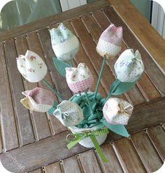 Ale soft craft: tulipani e . . . piccolo tutorial