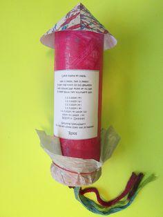 Vuurwerk-Nieuwjaarsbrief jongste kleuters