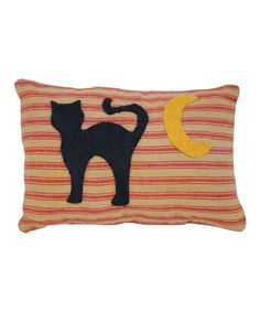 Take a look at this Cat & Moon Pillow Ornament by Pearson's Simply Primitives on #zulily today!