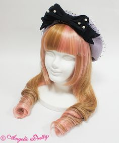 Angelic Pretty: Dolly Lady Ribbon Beret in lavender