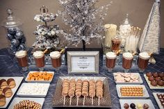 What is a winter dessert bar without hot chocolate? ;)