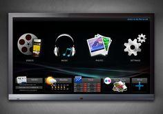 SmartTV / Connected TV UX/UI design