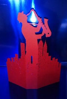 Jazz in the city | Paper cuts and prints