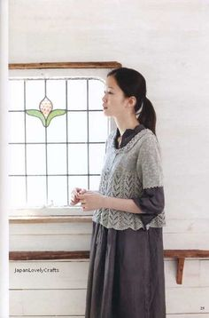 Hand Knit Linen & Cotton Clothes and Komono - Japanese Knitting and  Crochet  Pattern Book for Women - Yumiko Kawaji - 1085. $23.00, via Etsy.