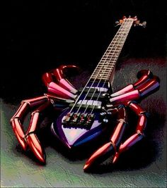 The Scorpion bass guitar