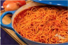 Dominican Spaghetti | Melba Martin | Copy Me That Amish Recipes, Dutch Recipes, Cuban Recipes, Meal Recipes, Dominican Spaghetti Recipe, Breakfast Casserole Muffins, Spagetti Recipe, Dominican Food, Dominican Recipes