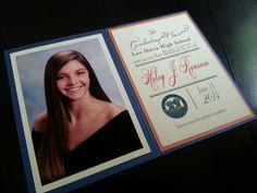 Graduation announcement 2014