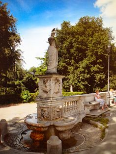 The Villa Borgese, Rome