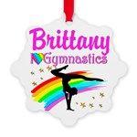 WINNING GYMNAST Snowflake Ornament http://www.cafepress.com/sportsstar/12689045 #Gymnastics #Gymnast #IloveGymnastics #Gymnastgifts #WomensGymnastics #USAGymnastics #Gymnasticsgifts #Gymnastgift  #personalizedgymnast #customgymnast