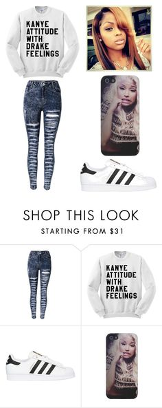 """Mood"" by lexiswagg on Polyvore featuring adidas Originals"