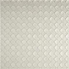 Luxury Faux Leather Quilted Diamonds White