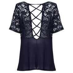 Aliexpress.com : Buy Summer Casual Women Blouse Lace Patchwork Short Sleeve Round Collar Blusas Hollow Out Cotton Crop Cool Tops For Girls from Reliable blouse saree suppliers on Sammydress Group Co. Ltd